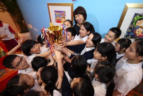 永利盃──首屆全澳小學生國情繪畫大賽頒獎典禮相冊